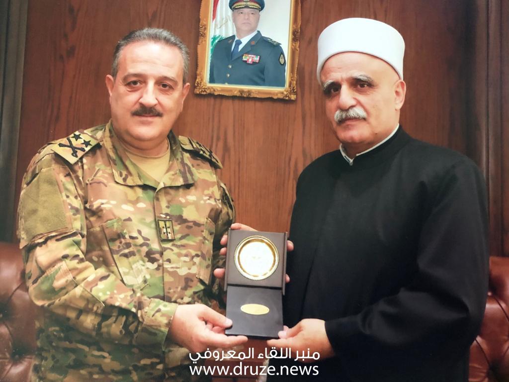 العرفان تزور قيادة الجيش اللبناني..
